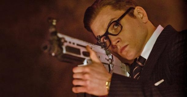 Taron Egerton as Eggsy in Kingsman: The Secret Service